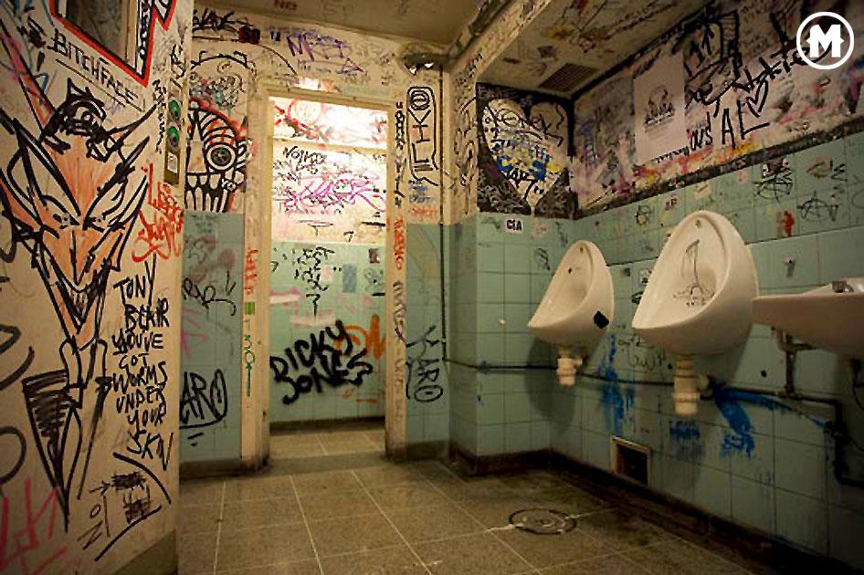 imagen del arte gráfico de los urinarios