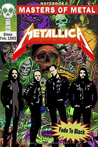 cuaderno: Metallica is the best American Metal band