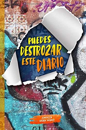cuaderno: PUEDES DESTROZAR ESTE DIARIO