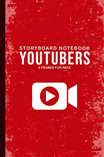 Youtuber Storyboard Notebook