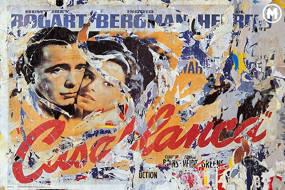 Decollage de Mimmo Rotella