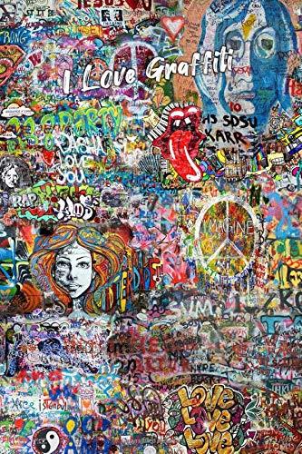 Cuaderno: I LOVE GRAFFITI